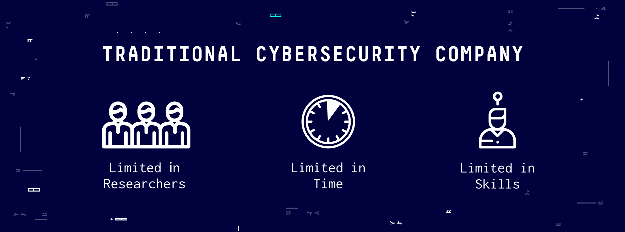 Traditional Cybersecurity Company